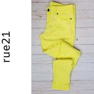 Rue 21 | yellow | skinny | jeans | 6
